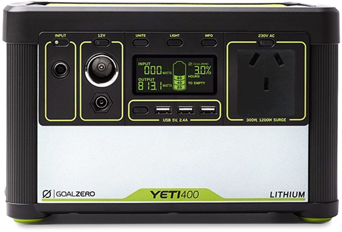 Goal Zero Yeti 400 Lithium Portable Power Station