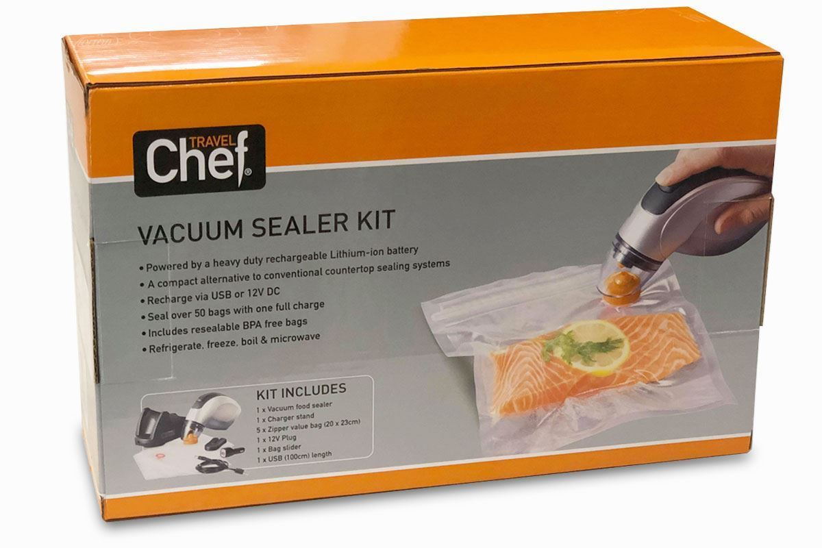 Travel Chef 12V Rechargeable Vacuum Sealer