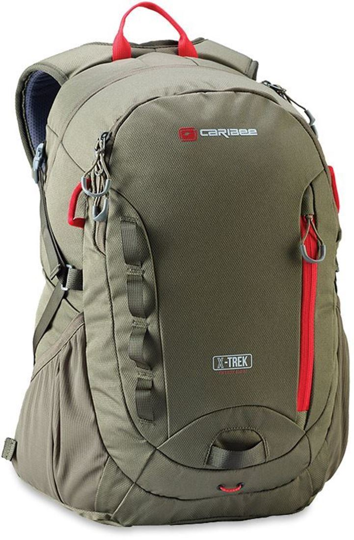 Caribee X-Trek 28L Backpack Forest Olive