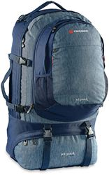 Caribee Jet Pack 65L Travel Pack Navy