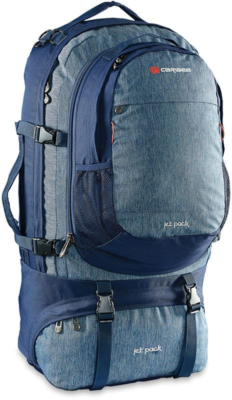 Caribee Jet Pack 75L Travel Pack Navy