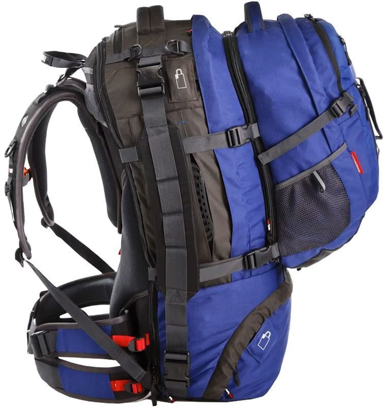 Black Wolf Cedar Breaks 65L Travel Pack - Side view