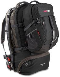 Black Wolf Cedar Breaks 65L Travel Pack - Black