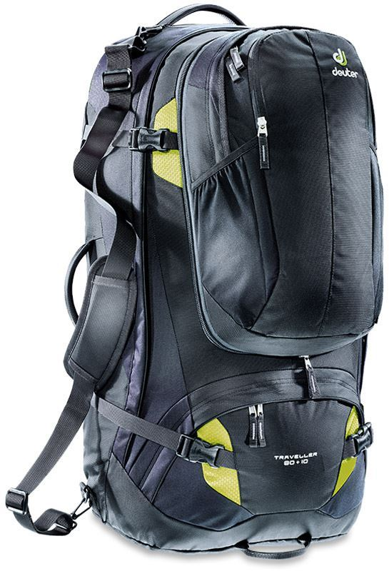 Deuter Traveller 80+10 Travel Pack Black Moss