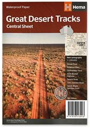 Hema Great Desert Tracks Central Sheet