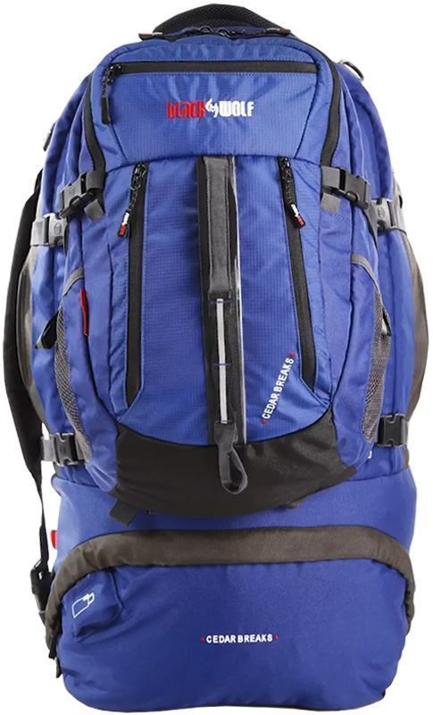 Black Wolf Cedar Breaks 75L Travel Pack - Front View