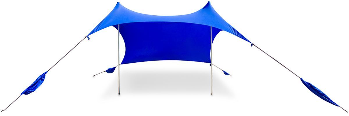 Outdoor Connection Fiesta Sun Shelter Medium Blue