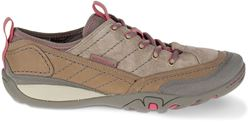 Merrell Mimosa Quinn Lace Leather Wmn's Shoe Aluminium