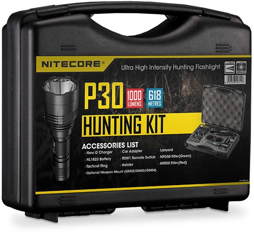 Nitecore P30 Hunting Flashlight Kit