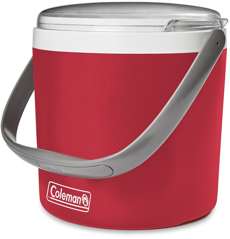 Coleman Party Circle Cooler Red