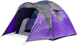 Outdoor Connection Breakaway 4V Dome Tent Purple