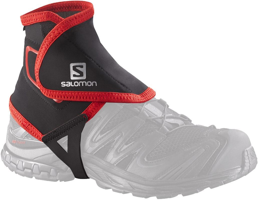 Salomon Trail Gaiters High Black