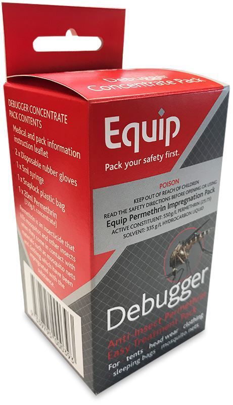 Equip Debugger Permethrin Treatment Pack