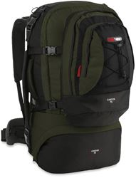 Black Wolf Cancun 70L Travel Pack - Black/ Titanium