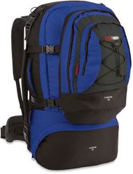 Black Wolf Cancun 70L Travel Pack - Blue/ Titanium