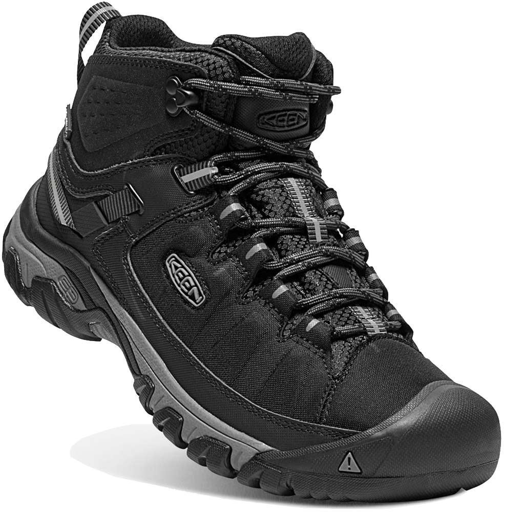 Keen Targhee EXP WP Mid Men's Boot Black Steel Grey