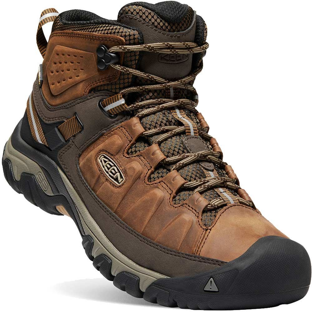 Keen Targhee III WP Mid Men's Boot Big Ben Golden Brown