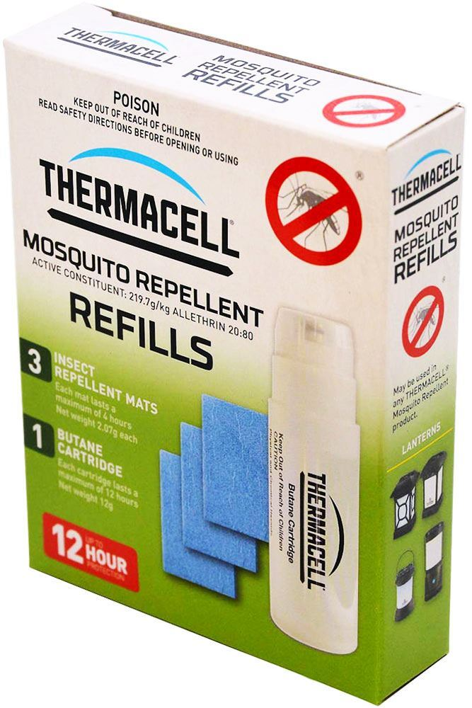 Thermacell Mosquito Repellent Refills 12 Hour