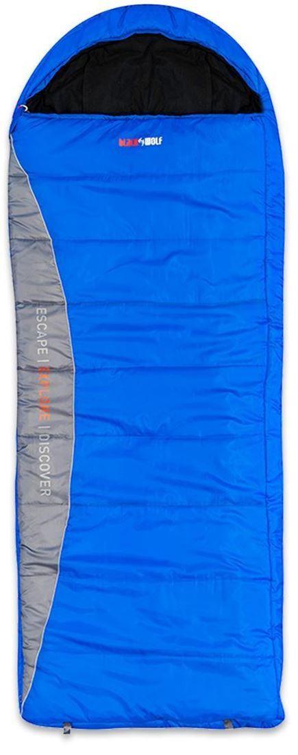 Black Wolf 3D 500 Sleeping Bag Blue