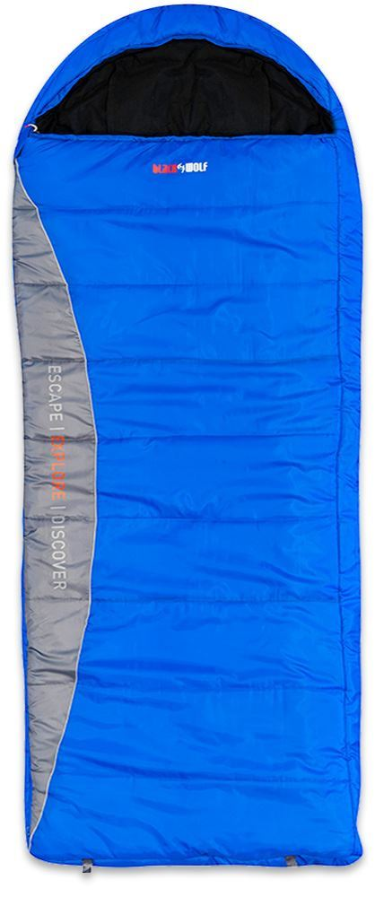 Black Wolf 3D Jumbo 600 Sleeping Bag Blue