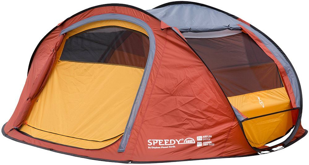 Explore Planet Earth Speedy 4 Pop Up Tent