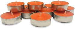 Waxworks Orange Citronella Tea Light Candle 12 Pk