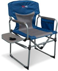 Black Wolf Compact Directors Chair Blue