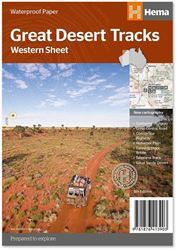 Hema Maps Great Desert Tracks Western Sheet