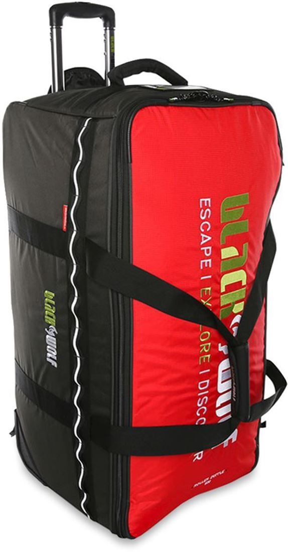 Black Wolf Roller Duffle Bag 120 Chilli