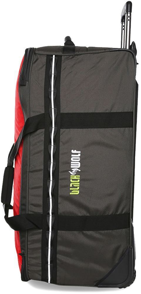 Black Wolf Roller Duffle Bag 120