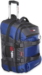 Black Wolf Skyrunner Wheeled Travel Pack 60 + 20 Blue