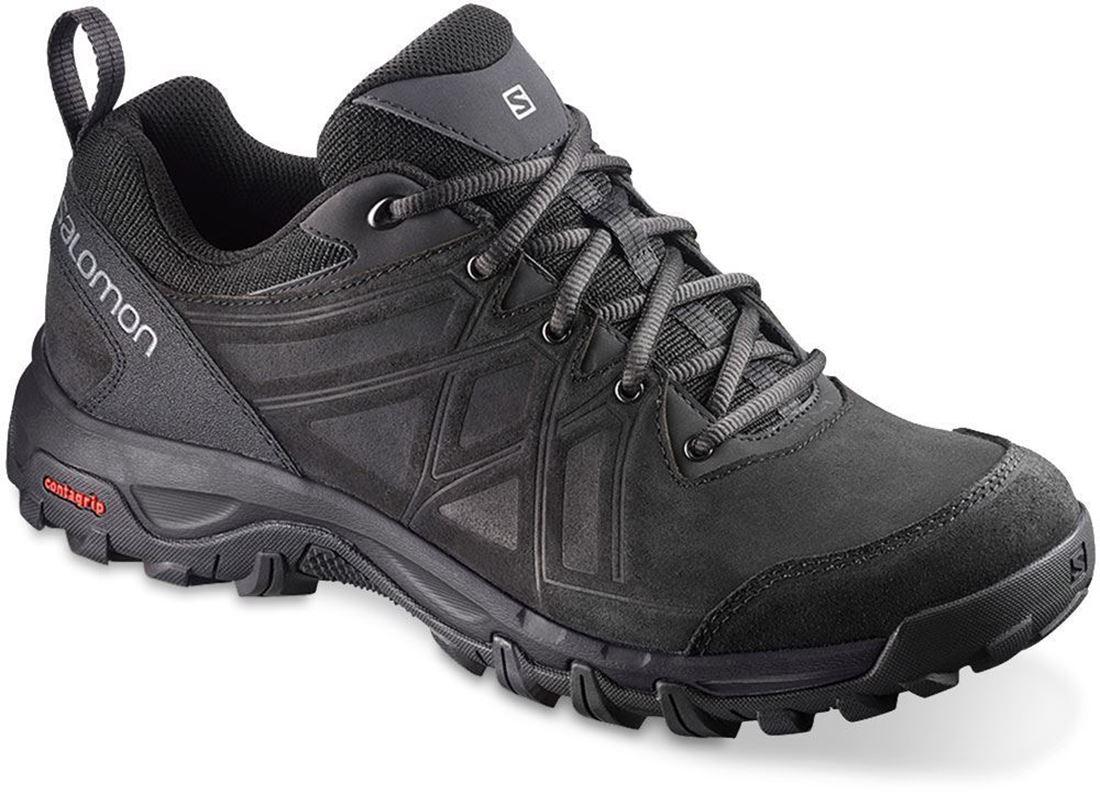 Salomon Evasion 2 LTR Men's Shoe US 8 Black Black Quiet Shade