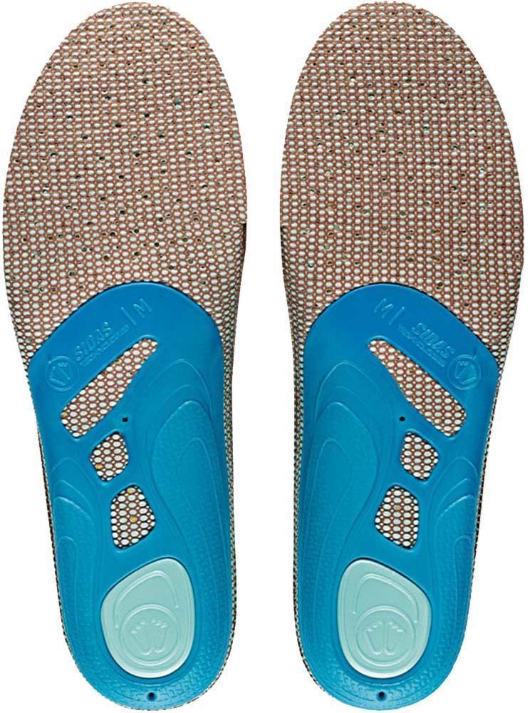 Sidas 3 Feet Outdoor Insole Low  - Sole view of pair