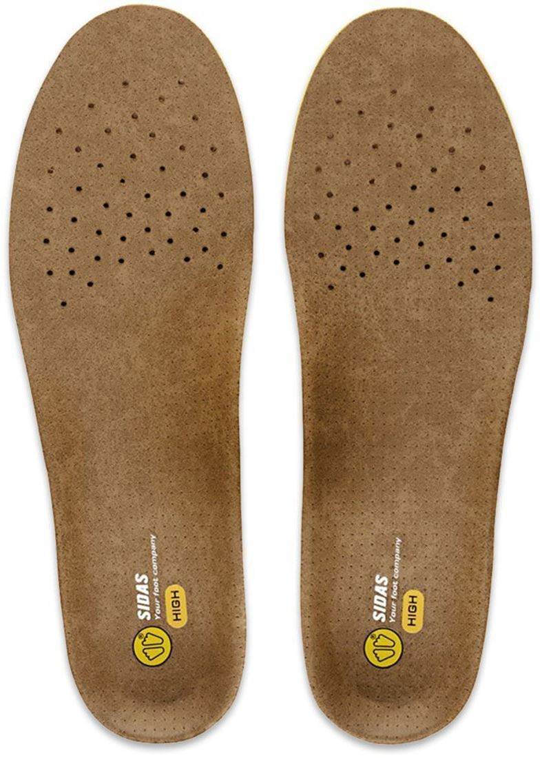 Sidas 3 Feet Outdoor Insole High - Front view of sole