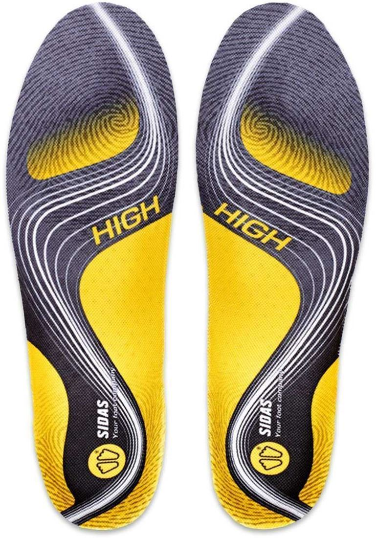 Sidas 3 Feet Activ Insole High - Top of sole