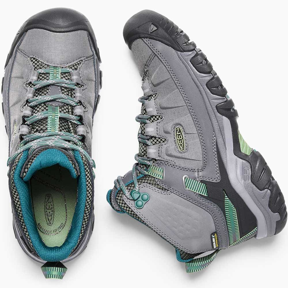 Keen Targhee EXP Mid WP Wmn's Boot Steel Grey Basil