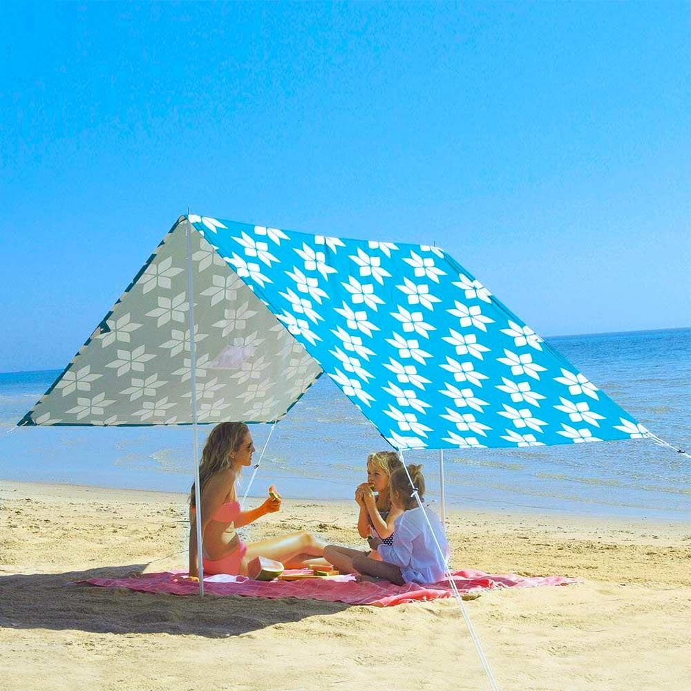 Hollie & Harrie Sombrilla Beach Shade Afternoon Delight