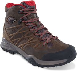 TNF Hedgehog Hike II Mid GTX Men's Boot Bone Brown Rage Red