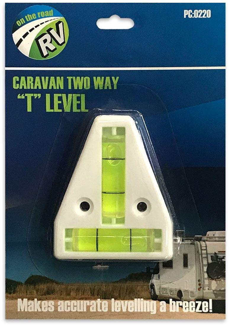 Australian RV Caravan Two Way T Level
