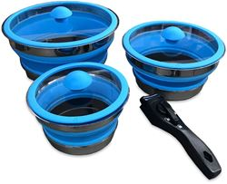 Collapsible Space Saving Non Stick Pot Set