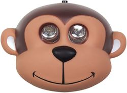 Companion Kids LED Headlamp Monkey