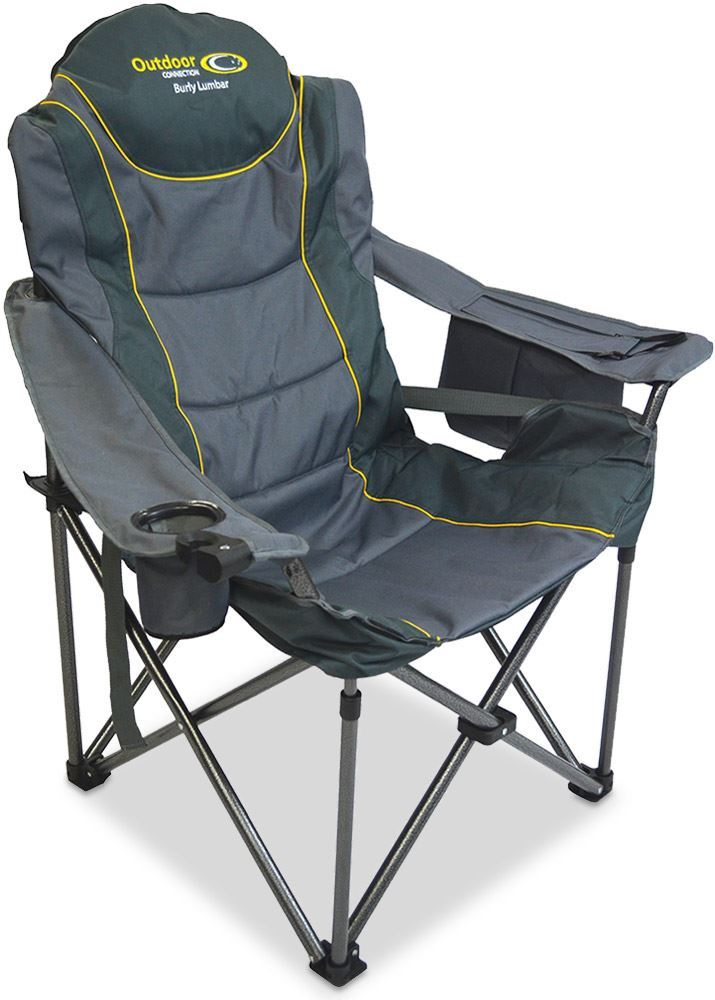 Outdoor Connection Burly Lumbar Chair Grey