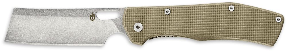 Gerber Flatiron Folding Cleaver Knife Desert Tan