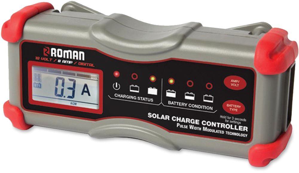 Roman 15A Inline Solar Controller