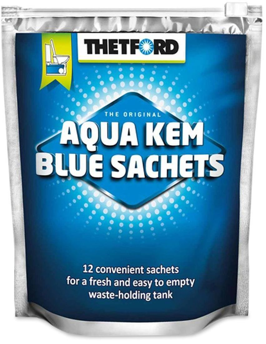 thetford aqua kem blue sachets 15 pk snowys outdoors. Black Bedroom Furniture Sets. Home Design Ideas