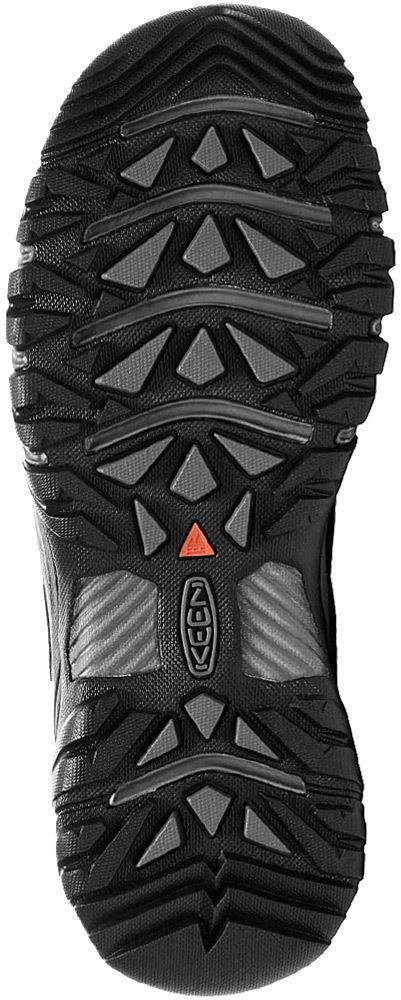 Keen Targhee EXP WP Men's Shoe Black/ Steel Grey - Sole