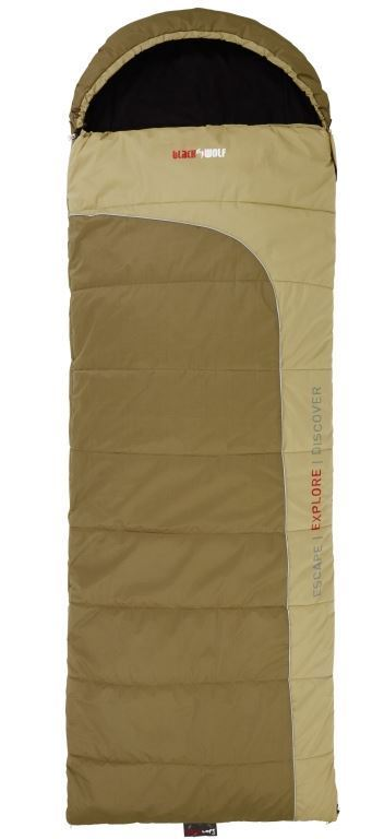 Black Wolf Tuff All Season Sleeping Bag