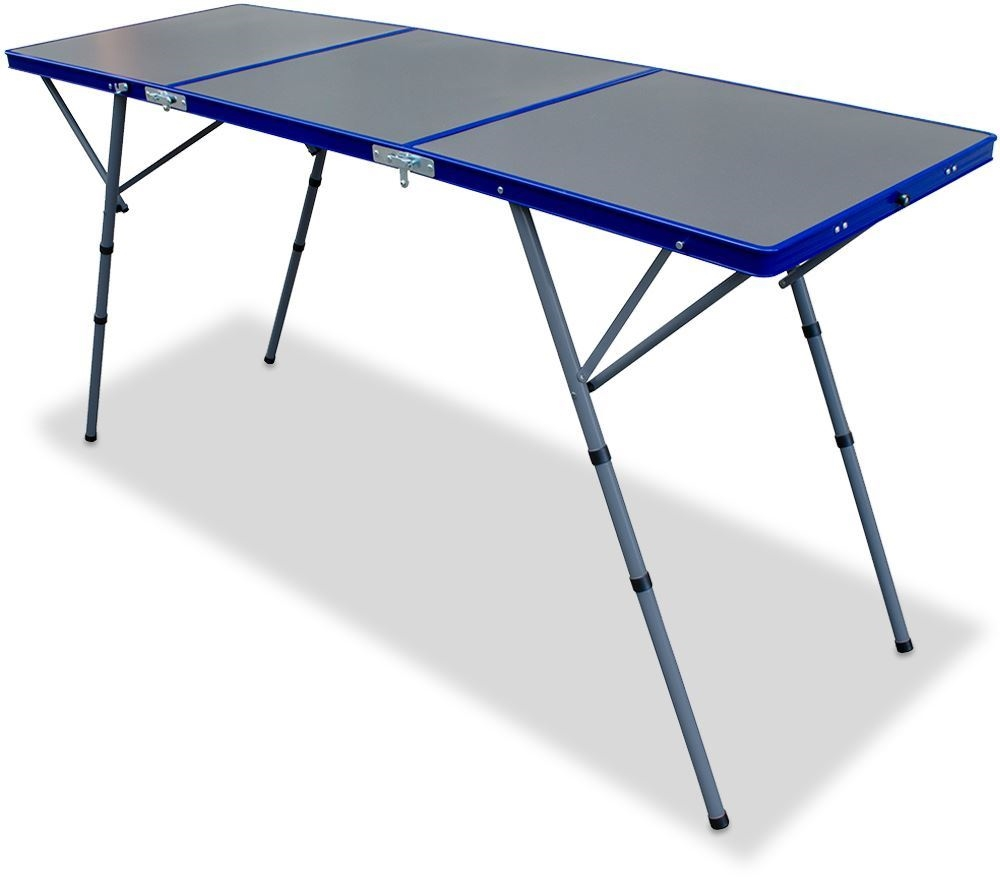 Outdoor Connection Tri-Fold High Table - Compact folding table that features the ability to be set up at two different heights