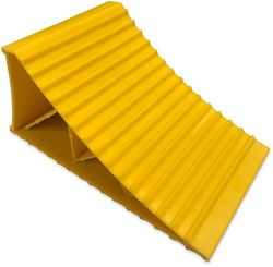 Australian RV Large Wheel Chock Yellow