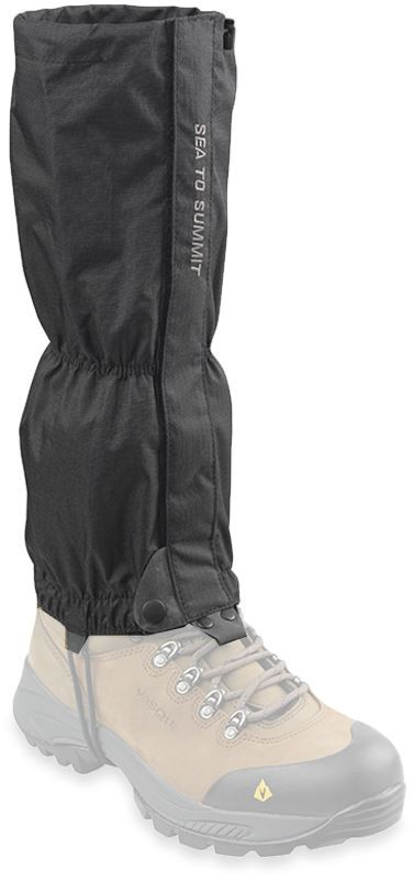 Sea to Summit Grasshopper Gaiters Small - Medium on boot